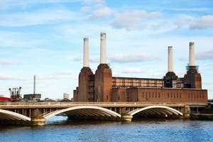 Battersea Power Station was the location for Future Retail